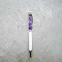 ハーバリウムペン  紫×ピンク