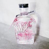 ピンクのハーバリウム【受注制作】