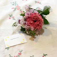 小さな季節の花束-pink-