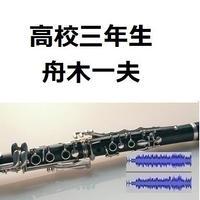 【伴奏音源・参考音源】高校三年生(舟木一夫)(クラリネット・ピアノ伴奏)