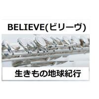 【フルート楽譜】BELIEVE(ビリーヴ)「生きもの地球紀行」(フルートピアノ伴奏)