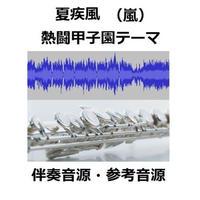 【伴奏音源・参考音源】夏疾風(嵐)(フルートピアノ伴奏)