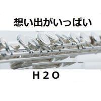 【フルート楽譜】想い出がいっぱい(H2O)「みゆき」(フルートピアノ伴奏)