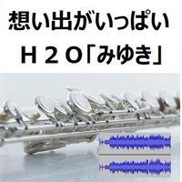 【伴奏音源・参考音源】想い出がいっぱい(H2O)「みゆき」(フルートピアノ伴奏)