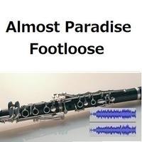 【伴奏音源・参考音源】パラダイス[AlmostParadise]「Footloose」(クラリネット・ピアノ伴奏)