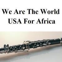 【クラリネット楽譜】We Are The World [USA For Africa] (クラリネット・ピアノ伴奏)