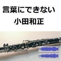 【伴奏音源・参考音源】言葉にできない(小田和正)(クラリネット・ピアノ伴奏)