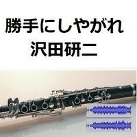 【伴奏音源・参考音源】勝手にしやがれ(沢田研二)(クラリネット・ピアノ伴奏)