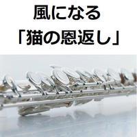 【フルート楽譜】風になる「猫の恩返し」スタジオジブリ(フルートピアノ伴奏)つじあやの
