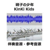 【伴奏音源・参考音源】硝子の少年(KinKi Kids)(フルートピアノ伴奏)