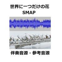 【伴奏音源・参考音源】世界に一つだけの花(SMAP)(フルートピアノ伴奏)