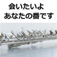 【フルート楽譜】会いたいよ(田中 圭)手塚 翔太「あなたの番です」(フルートピアノ伴奏)