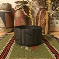 Black ◆bkb ceramics Geometric planter ◆10◆bkbセラミックス 幾何学模様 鉢 プランター
