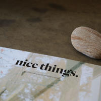 nice things.  Issue 63「扉を開けたいお店」