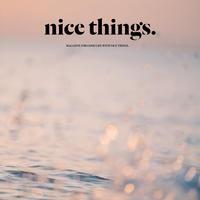 nice things.  Issue 64「今、ボクらにできること、を。」