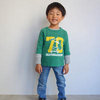 Champion kid's PEANUTS FOOTBALL 3/4 TEE
