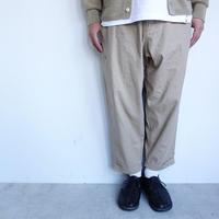 GRAMicci LINEN COTTON RESORT PANTS