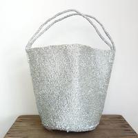 RECTANGLE  Silver Basket (Large Shoulder)