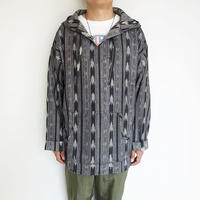 South2 West8 mexican parka - cotton cloth / ikat pattern