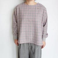 Slow Hands tattersol wool blouse