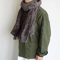 Suno&Morrison Silk cotton printed shawl