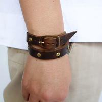 FERNAND LEATHER Narrow Band (double)