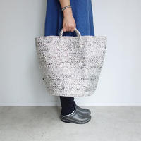 RECTANGLE Silver Basket (Big Tote)