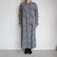 South2 West8 6pocket shirt dress-froret print