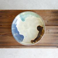 波賀焼 植田禎彦 三彩菓子鉢