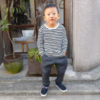 Gramicci kid's Bonding Knit Fleece Rib Pants