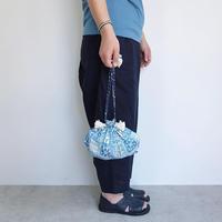 Suno & Morrison Cotton Silk Drawstring Bag S
