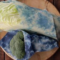 みつろうらっぷ XL (36cm×36cm) 正藍染 蜜蝋エコラップ