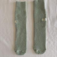 pile socks ぺールグリーン