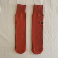 pile socks レッド