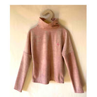 ベロアハイネックプルオーバー S /Mサイズ   col.pink /plum