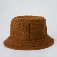 reversible bucket hat ブラウンXベージュレオパード Sサイズ Lサイズ