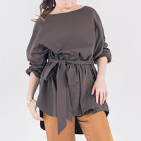 BELTED LONG TSHIRT