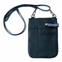 【Natural Smile】FLAT TYPE POUCH(Navy)/ポーチ・フラットタイプ(ネイビー)