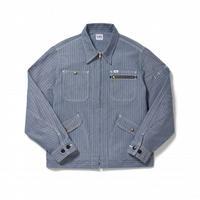 【Lee】MENS ZIP-UP JACKET(BLUE)/メンズジップアップジャケット(ブルー)
