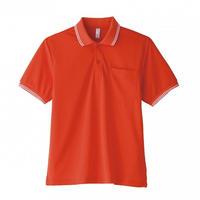 【Natural Smile】UNISEX POLO SHIRT(Orange)/ポロシャツ ユニセックス(オレンジ)