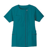 【Natural Smile】LADIES SCRUB(TURQUOISE)/レディススクラブ(ターコイズ)