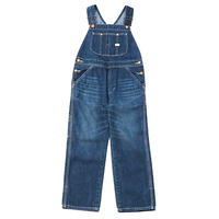 【Lee Baby】OVERALLS(D.USED)/オーバーオール(濃色ブルー)