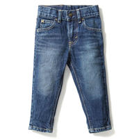 【Lee Baby】TAPERED(D.USED)/ベーシックテーパード(濃色ブルー)80〜100size