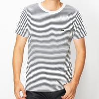 【Lee】PACK POCKET T(White×Navy)/パックポケットティーシャツ(ホワイト×ネイビー)