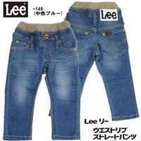 【Lee Kids】RIB PAINTER PANTS(Mid  Used)/リブ ペインターパンツ(中色ブルー)