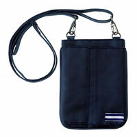 【Natural Smile】OPEN TYPE POUCH(Navy)/ポーチ・オープンタイプ(ネイビー)