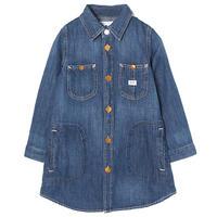 【Lee Kids】WORK DRESS(D.USED)/ワークドレス(濃色ブルー)