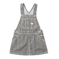 【Lee Baby】OVERALL SKIRT( HICKORY)/オーバーオールスカート(ヒッコリー)80〜100size