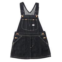 【Lee Kids】OVERALL SKIRT(RINSE)/ オーバーオールスカート(インディゴブルー)110〜120size
