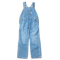 【Lee Baby】OVERALLS(L.USED)/オーバーオール(中色ブルー)80〜115size
